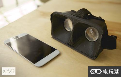 AirVR:一款专门为iOS准备的VR 产品 第1张