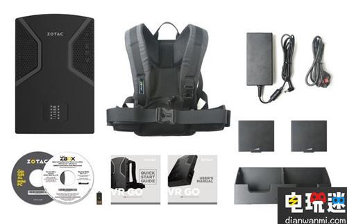 无线可拆卸 Zotac推出VR Go背包PC 产品 第4张