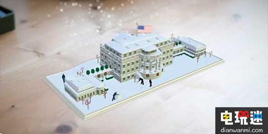 没想到你是这样的白宫 白宫AR应用《1600》公布 产品 第2张