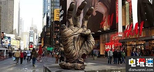 《行尸走肉》AR广告现身纽约街头惊吓众人 资讯 第1张