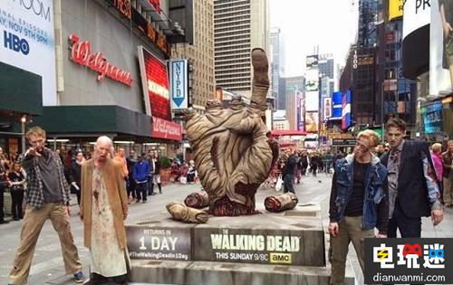 《行尸走肉》AR广告现身纽约街头惊吓众人 资讯 第2张