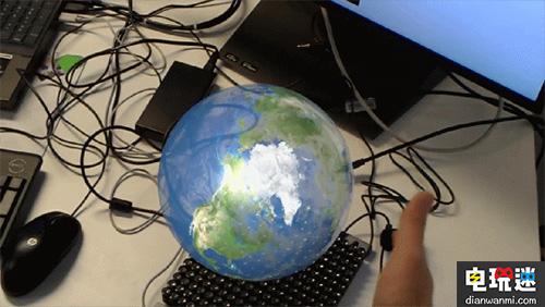 微软最逼真AR技术升级:隔空摸球也有感觉了 产品