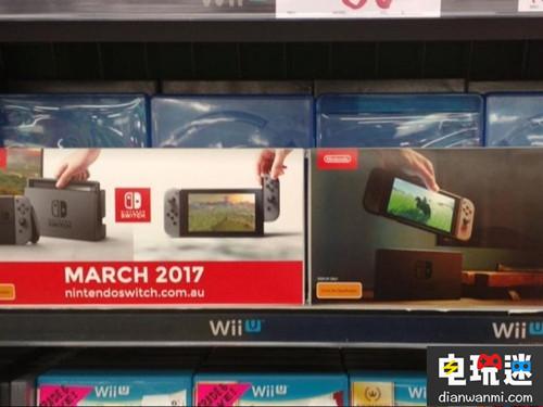 国外商店提前推出任天堂Switch广告海报 任天堂