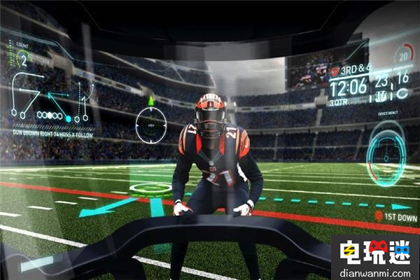 未来橄榄球头盔都配AR功能 不知道NFL让不让 VR 第3张