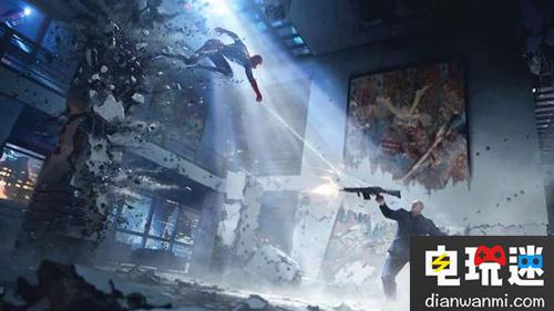 迪士尼D23展会 :PS4版《蜘蛛侠》最新概念图公开! 索尼PS 第1张