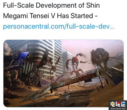 Switch《真女神转生5》已经进入全面开发阶段 任天堂 第1张