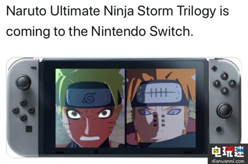 火影迷的福利——《火影忍者究极忍者风暴三部曲》将登陆任天堂Switch 任天堂 第1张