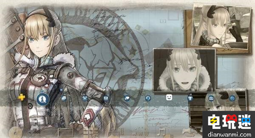 角色扮演单机游戏《战场女武神4》上线最新PS4专用主题! 电玩迷资讯 第2张