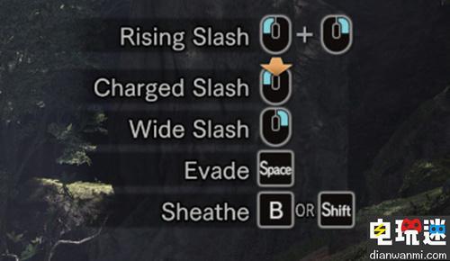 《怪物猎人 世界》登陆WeGame及Steam平台 同时公开PC版键鼠操作方法 电玩资讯 第3张