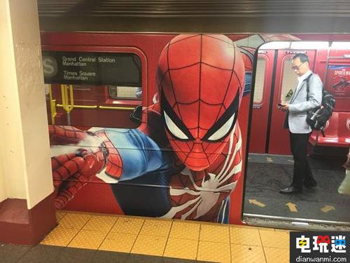 街头宣传?PS4《蜘蛛侠》海报亮相曼哈顿! 索尼PS 第1张