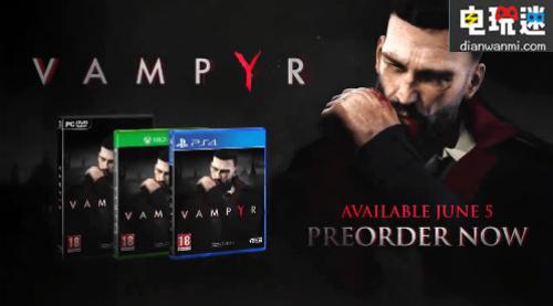 《Vampyr》确认将在NS平台发售 电玩资讯