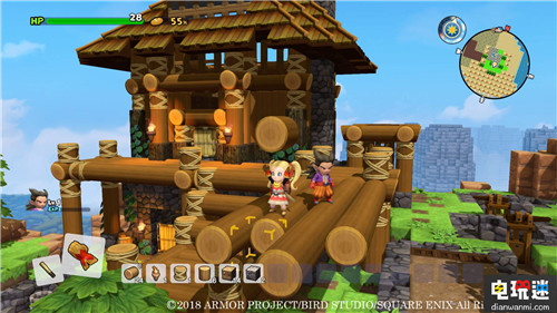 《勇者斗恶龙:创世小玩家2》PS4中文版公布 索尼PS 第3张