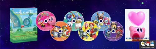 《星之卡比:新星同盟》原声集推出6碟220曲 任天堂 第2张
