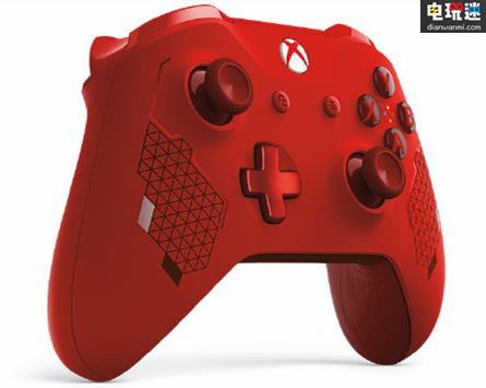 """Xbox推出  """"运动红""""特别版 无线手柄?网友:改成中国红销量翻倍! 电玩资讯 第1张"""