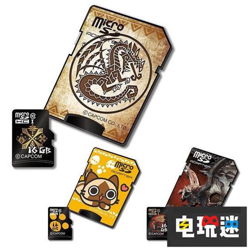 容量太小《怪物猎人》推出主题迷你SDHC卡 卡普空 CAPCOM SD卡 microSDHC卡 怪物猎人 电玩迷资讯  第1张