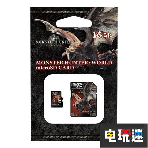 容量太小《怪物猎人》推出主题迷你SDHC卡 卡普空 CAPCOM SD卡 microSDHC卡 怪物猎人 电玩迷资讯  第3张
