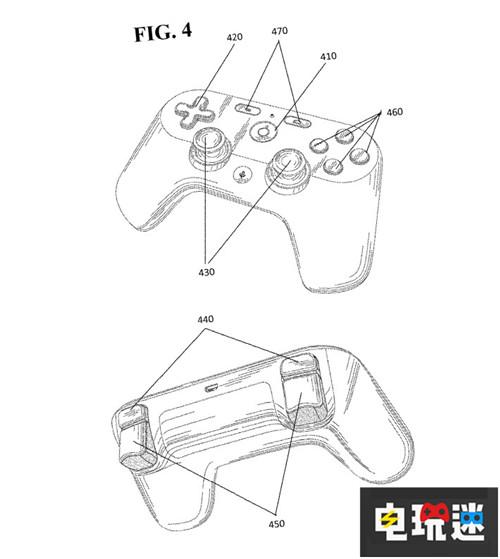 谷歌游戏手柄专利曝光神似PS4手柄 电玩迷资讯 第1张