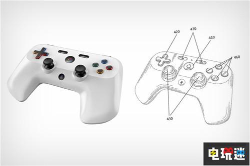 谷歌游戏手柄专利曝光神似PS4手柄 电玩迷资讯 第3张