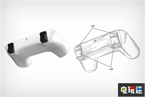 谷歌游戏手柄专利曝光神似PS4手柄 电玩迷资讯 第4张