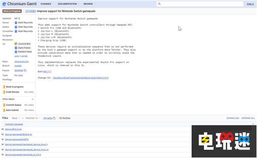 谷歌Chrome浏览器计划加入Switch手柄支持 任天堂SWITCH 第3张