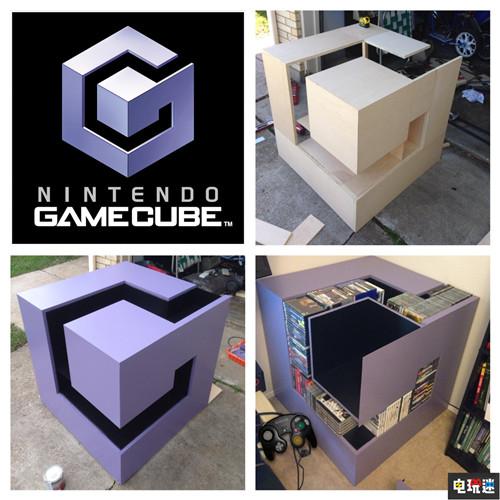 玩家自制神还原任天堂GameCube logo储存架 任天堂SWITCH 第4张