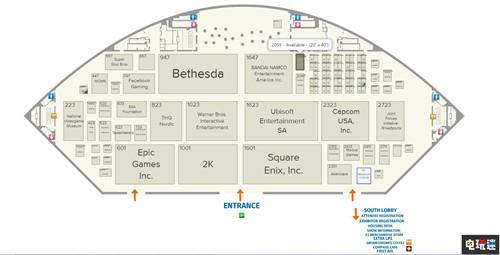 E3 2019展会地图公开 索尼缺席北区站台大改 电玩迷资讯 第1张