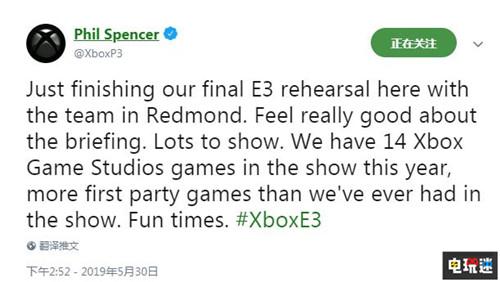 Xbox主管表示E3 2019微软展前发布会第一方作品数量为史上之最 神鬼寓言4 帝国时代4 战争机器5 光环:无限 E3 2019 XboxOne 微软 微软XBOX  第2张
