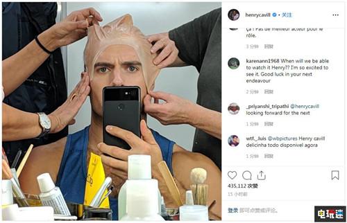 《巫师》真人剧第一季杀青 大超亨利卡维尔晒化妆照 Netflix 亨利卡维尔 超人 巫师3 杰洛特 巫师 VR及其它  第3张