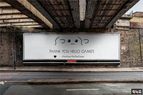 玩家众筹购买广告牌感谢《无人深空》开发商的坚持 Hello Games XboxOne Steam PS4 无人深空 电玩迷资讯  第4张