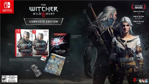 Switch《巫师3:完全版》实体版内容公开 任天堂SWITCH 第1张