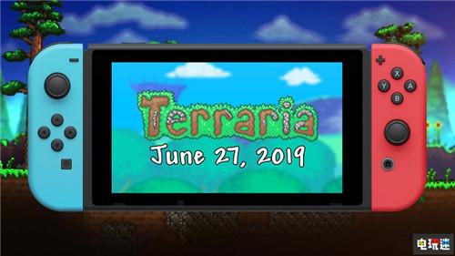 《泰拉瑞亚》Switch版发售日确定 实体版稍后发售 任天堂 Switch 泰拉瑞亚 任天堂SWITCH  第1张