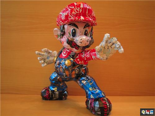 日本艺术家制作易拉罐马里奥兄弟 给大神膝盖 任天堂SWITCH 第2张