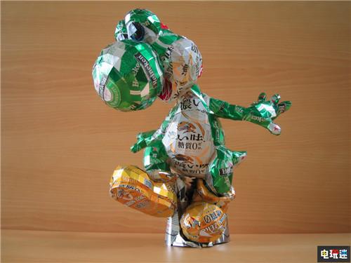 日本艺术家制作易拉罐马里奥兄弟 给大神膝盖 任天堂SWITCH 第5张