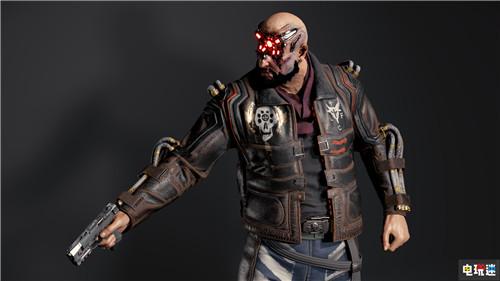 官方COS指南《赛博朋克2077》公开游戏角色细节图 电玩迷资讯 第12张