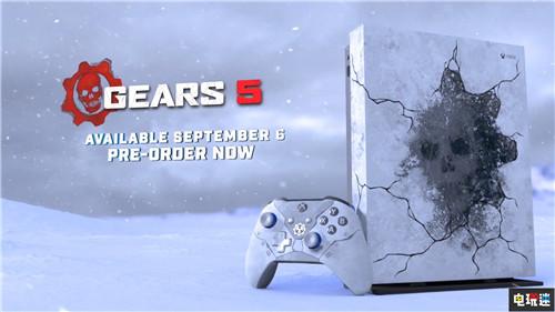 微软推出《战争机器5》冰河主题XboxOneX 包含系列作品 微软XBOX 第1张