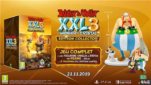 德国亚马逊泄露《高卢英雄传XXL3:水晶立石》发售日 电玩迷资讯 第2张