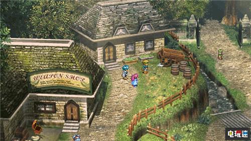 《星之海洋:初次启程R》游戏截图公开 主角立绘重制 电玩迷资讯 第4张