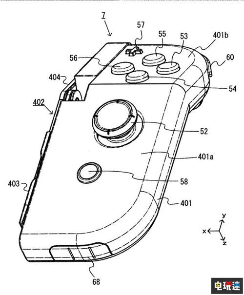 任天堂推出Joy-Con新专利 手柄可折叠 任天堂SWITCH 第2张
