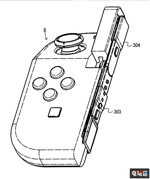 任天堂推出Joy-Con新专利 手柄可折叠 任天堂SWITCH 第6张