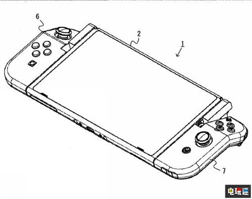任天堂推出Joy-Con新专利 手柄可折叠 任天堂SWITCH 第7张