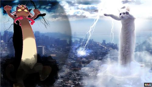 《宝可梦:剑盾》超极巨化喵喵惹玩家P图脑洞大开 GameFreak 任天堂 精灵宝可梦 Switch 超极巨化 喵喵 宝可梦:剑/盾 宝可梦 任天堂SWITCH  第6张