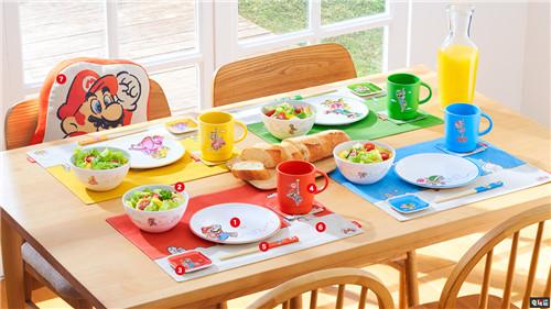 任天堂东京旗舰店将推出马里奥主题家庭餐具 Nintendo Tokyo 超级马里奥 任天堂 任天堂SWITCH  第3张