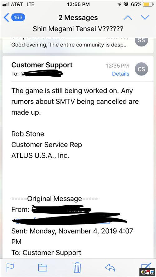 Atlus辟谣《真女神转生5》还在开发并未取消 Switch Atlus 女神异闻录 真女神转生5 任天堂SWITCH  第2张
