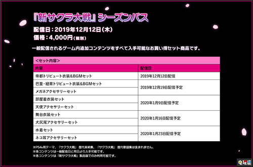 《新樱花大战》港服季票删除泳装DLC原因未知 索尼PS 第1张
