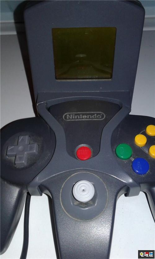 玩家晒N64未公开手柄外设 小屏幕好似DC的VMU 任天堂SWITCH 第1张