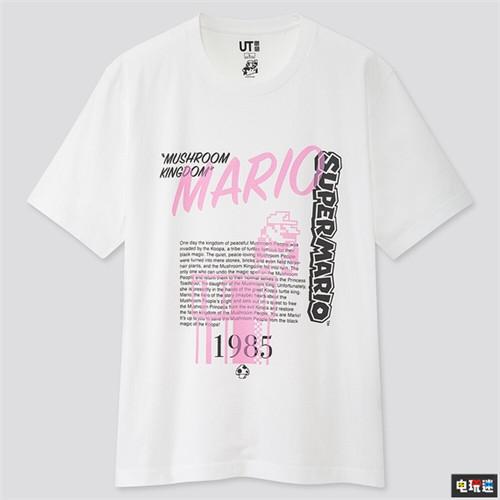 还没夏天优衣库就公开了超级马里奥联动T恤 任天堂SWITCH 第2张