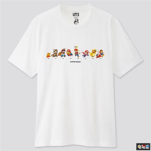 还没夏天优衣库就公开了超级马里奥联动T恤 任天堂SWITCH 第3张