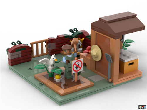 玩家向乐高提交《无名大鹅》乐高套装 过万支持就可能成真 LEGO 乐高积木 无名大鹅 电玩迷资讯  第4张
