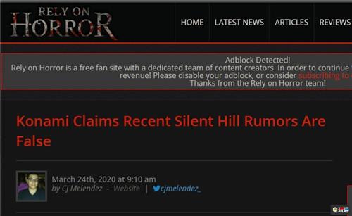 科乐美官方辟谣并没有与索尼合作制作《寂静岭》新作 电玩迷资讯 第3张