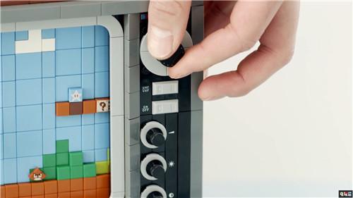 乐高联合任天堂推出NES乐高积木 画面可动真能玩 红白机 NES 乐高 任天堂 任天堂SWITCH  第6张